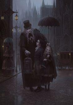 lost inyharnam by zjl black knight is part of Vampire art - Lost inYharnam by ZJL Black Knight Darkart Gothic Dark Fantasy Art, Fantasy Kunst, Dark Gothic Art, Gothic Artwork, Anime Fantasy, Anime Kunst, Art Anime, Art And Illustration, Arte Horror