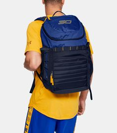 SC30 Undeniable Backpack | Under Armour US Mochila Under Armour, Need To Meet, Stephen Curry, Backpacks, Soccer Ball, Shoulder Straps, Shopping, Fit, Products