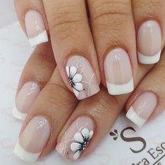Pretty Toe Nails, Pretty Toes, French Nails, Jamberry, Short Nails, Gel Nails, Nail Designs, Hair Beauty, Nail Art