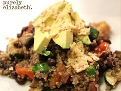 Purely Elizabeth South of the Border Quinoa Salad Recipe