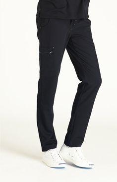 FIGS Women's Fizi Skinny Scrub Pants-Black