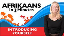 Afrikaans in Three Minutes - Do You Speak English? Learn Dutch, Vocabulary List, Afrikaans, How To Introduce Yourself, Homeschool, English, Learning, Youtube, South Africa