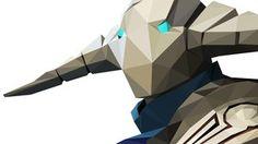 DotA 2 - Low Poly Sven by SacredTunes