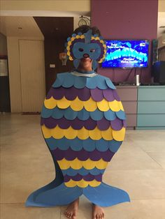 Fish costume and mask