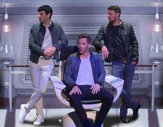 Zachary, Chris and Karl