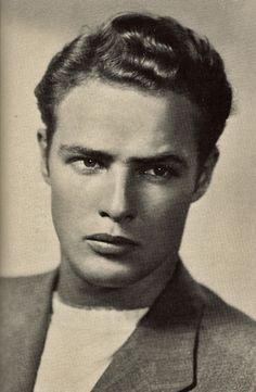 Young Marlon Brando                                                       …