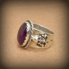 Jimmy Hendrix memorial Purple Haze ring