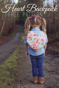 Heart Backpack Free