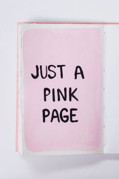 pink and black art print. / sfgirlbybay