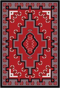 Little Navajo Cross Stitch von MartisXSDesigns auf Etsy