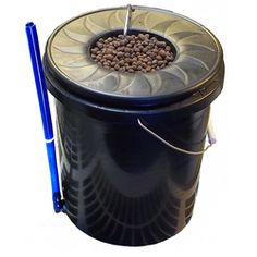 The Black Bucket Deep Water System is a good way to try out hydroponics on a small (inexpensive) scale.