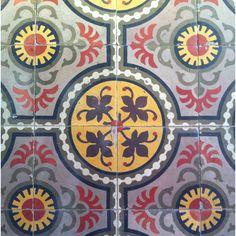 Beautiful handmade tiles