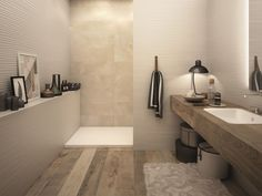 Best pictures, images and photos about farmhouse bathroom tile ideas search: bathroom tile ideas floor, bathroom tile ideas shower, bathroom tile ideas small, bathroom tile ideas d Bathroom Toilets, Laundry In Bathroom, Bathroom Faucets, Shower Bathroom, Shower Tiles, Wood Bathroom, Bathroom Layout, Beautiful Bathrooms, Modern Bathroom