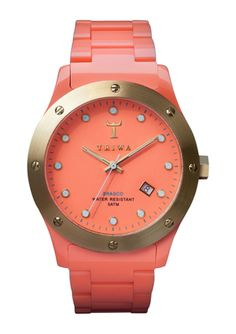 if i had a watch for spring, this would be it.