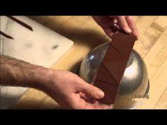 A Chocolate Treasure - How to make Chocolate Garnish - Decorations for Desert Plating - YouTube