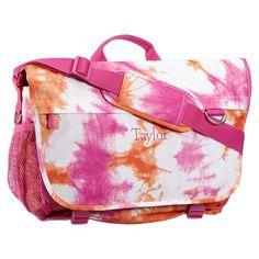 Gear-Up Pink Tie-Dye Messenger Bag | PBteen
