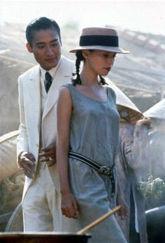 Tony Leung Ka Fai & Jane March in L'amant (The Lover) - 1992//