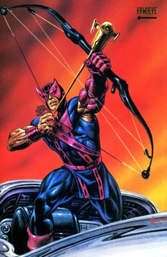 Hawkeye by Joe Jusko