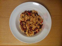 W siódmym niebie - blog kulinarny: Kasza jaglana z kiełbasą i papryką Cereal, Oatmeal, Breakfast, Blog, Breakfast Cafe, Rolled Oats, The Oatmeal, Overnight Oatmeal