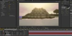 Rendering Minecraft Worlds in After Effects using Element 3D