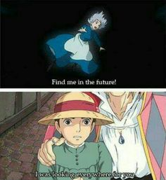 Mind blowing sentences from Howl's moving castle (Studio Ghibli Film) >I watched it so many times, yet I still missed that XD Disney Logo, Disney Shirts, Disney Pixar, Funny Disney, Manga Anime, Anime Art, Hayao Miyazaki, Howl's Moving Castle, Castles
