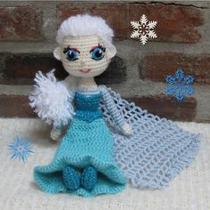 Ravelry: Snow Queen Elsa Doll by CrochetCuteDolls