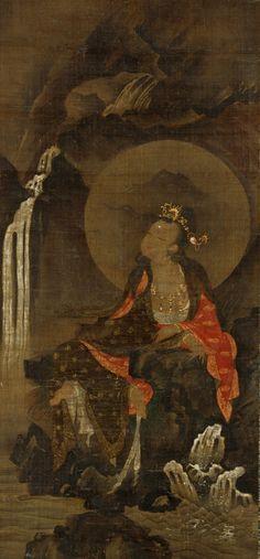 Water Moon Avalokitesvara - 16th century Korea