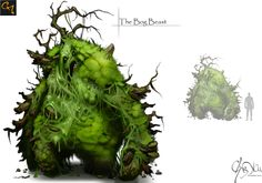 The Bog Beast by CxArtist.deviantart.com on @deviantART