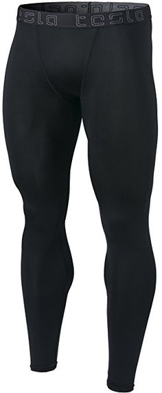 Tesla Men s Compression Pants Baselayer Cool Dry Sports Tights Leggings  MUP19 MUP09 P16 Review 9f415461c
