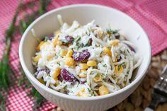 Pasta z cieciorki z prażonym słonecznikiem ⋆ M&M COOKING Cooking Recipes, Healthy Recipes, I Want To Eat, Food Dishes, Potato Salad, Cabbage, Food And Drink, Lunch, Vegetables