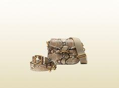 Gucci - lady web python shoulder bag 380573EE9FT9289
