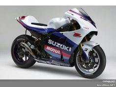 Suzuki's 2005 motogp bike. One of best liveries ever. (for more see motogp- suzuki board)