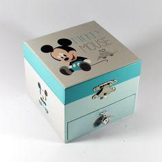 Disney / Caixas de musica / Guarda Jóias - Caixa de música Mickey Mouse – Bau da Cravus