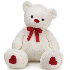 Plush Love Bear 31 Inch High