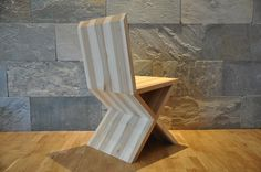 "Krzesło / Chair ""X"" www.facebook.com/QbaConcept  Made in Poland"