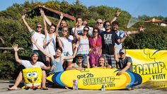Got2b-Surfcamp_Ytitty_Gruppenbild Sports, Group Pictures, Surf, Kunst, Hs Sports, Excercise, Sport, Exercise