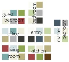 Color Scheme For House whole house color scheme: pick the perfect colors for your home