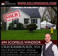 If you are ready to buy or sell a home in Windsor Essex County contact me today to help! www.sellwindsor.ca or call: 519-995-7600