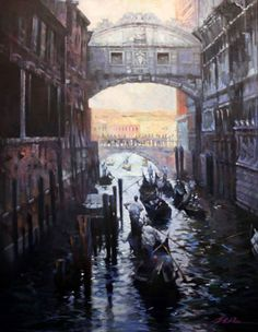 Jian Wu: Venice Traffic