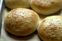 light brioche burger buns by smitten, via Flickr