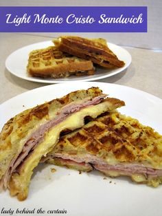 Light Monte Cristo Sandwich      RSmith
