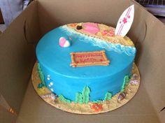 Teen beach movie cake Birthday Cakes For Teens, 13th Birthday Parties, Themed Birthday Cakes, Birthday Ideas, Cupcakes, Cupcake Cakes, Teen Cakes, Kid Cakes, Teen Beach Party