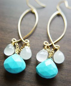 Drop earrings inspiration...