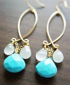 Drop earrings inspiration...