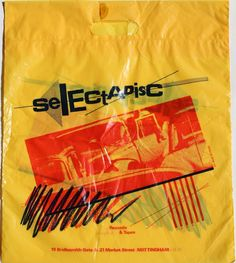 Selectadisc - Nottingham - 9-Jul-1988 Vinyl Store, Vinyl Junkies, Quality T Shirts, Nottingham, Nostalgia, Music Images, Shopping, Bags, Handbags