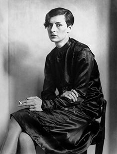 I wonder if this would be too manly on my face?  (Sylvia von Harden. German journalist and poet in the Weimar era, 1920s)