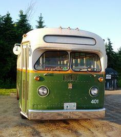 Vintage Bus Siting