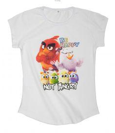 T-shirt Szalone Angry-dziewczynka