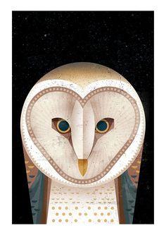 Barn Owl - East End Prints Ltd