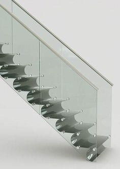 Professionals in staircase design, construction and stairs installation. In addition EeStairs offers design services on stairs and balustrades. Stairs And Staircase, Stair Handrail, Staircase Design, Railings, Metal Stairs, Stairs Architecture, Interior Architecture, Escalier Design, Beautiful Stairs